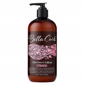 Bella Curls Coconut Creme Cowash 16 oz