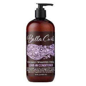 Bella Curls Coconut Whipped Creme Leave-In Conditioner 16 oz