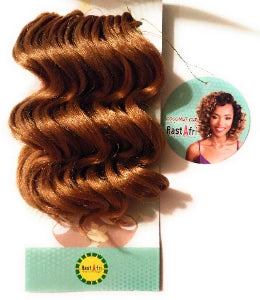 RastAfri Coconut Curl Crochet braid Pre-Looped Braids- https://elisebeautysupply.com