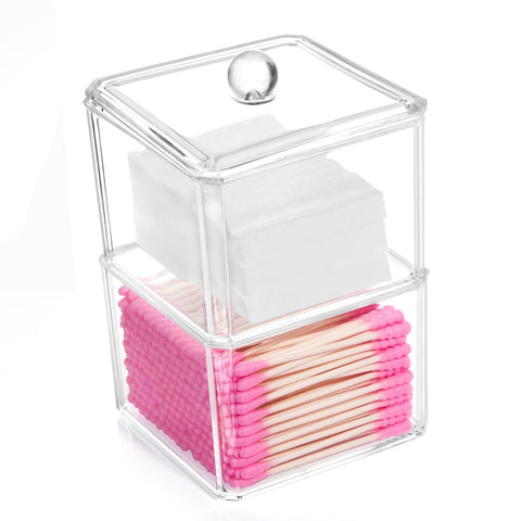 Qtip Cotton Swab Dispenser Holder - Elise Beauty Supply