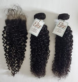 human hair weave curly Indian human hair