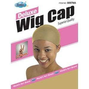 Deluxe Dream Stocking Wig Cap Natural 2 pieces - Elise Beauty Supply