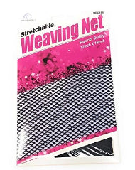 Stretchable Weaving Net Black 12 x 16 inch 2 pieces