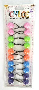 Ponytail holders Assorted colors