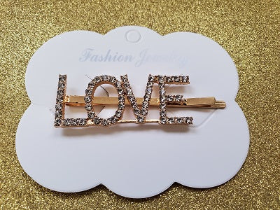 LOVE Hair Pin Jewels