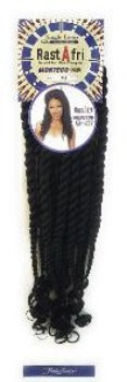 RastAfri Montego Jumbo Twist Crochet Braid Hair - Elise Beauty Supply
