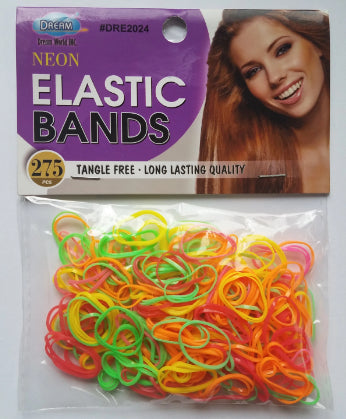 Neon Elastic Bands - Elise Beauty Supply