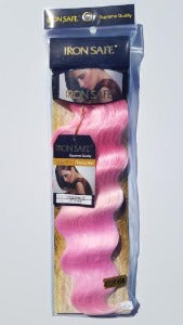 3 tone Loose Deep Pink Hair Weave Quick Weave Sew-in Weave heat safe