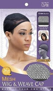 Qfitt Closed Top Mesh Wig & Weave Cap - Elise Beauty Supply