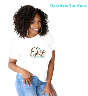 RastAfri Tiki Curl Crochet Braids - Elise Beauty Supply