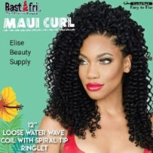 Rastafri Maui Curl Crochet Braid Loose Water Wave Crochet Braids 1b