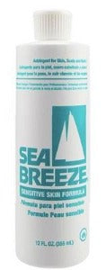Sea Breeze Sensitive Skin Astringent 12 Fl.oz. - Elise Beauty Supply