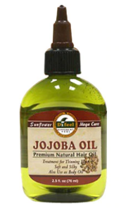 Sunflower Premium Natural Hair Oil Jojoba Oil 2.5 oz - Elise Beauty Supply