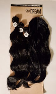 Synthetic hair weave Natural Dream Body wave Multi