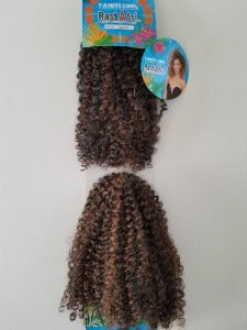 RastAfri Tahiti Curl Crochet Braids 1B/30 - Elise Beauty Supply