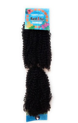 RastAfri Tahiti Curl Braid Dark Brown, #2, crochet hair