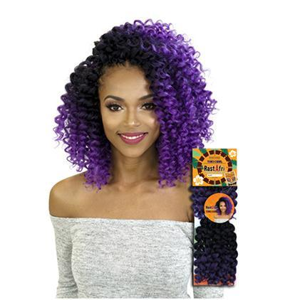 RastAfri Tiki Curl Single Loop Crochet Hair, Elise Beauty Supply, Crochet Hair, Braid Hair