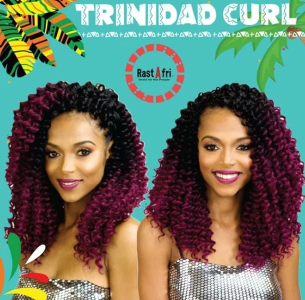 Trinidad Curly Crochet Braids Elise Beauty Supply