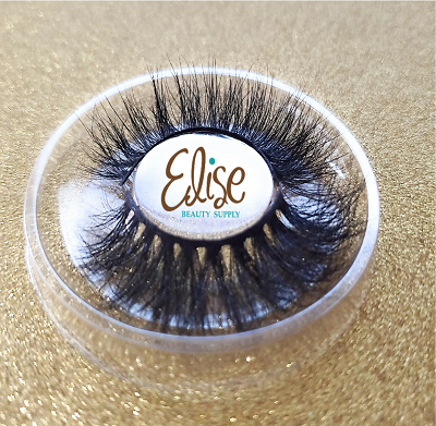 3D Mink Lashes Black volumious Long