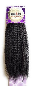 Ziggy braid by rastafri color 1B crochet braids