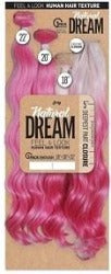 "Zury Sis Natural Dream Multi body wave 22""  Dipping Pink"
