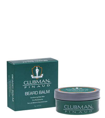 Clubman Pinaud Beard Balm 2 oz. - Elise Beauty Supply