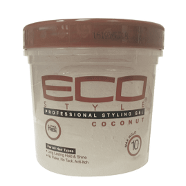 eco style coconut oil professional styling gel 8oz.