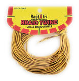 Braid Twine Loc & Braid jewels Gold