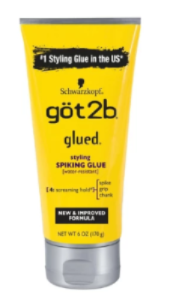 got 2b glued Styling Spiking Glue Original 6 oz. - Elise Beauty Supply