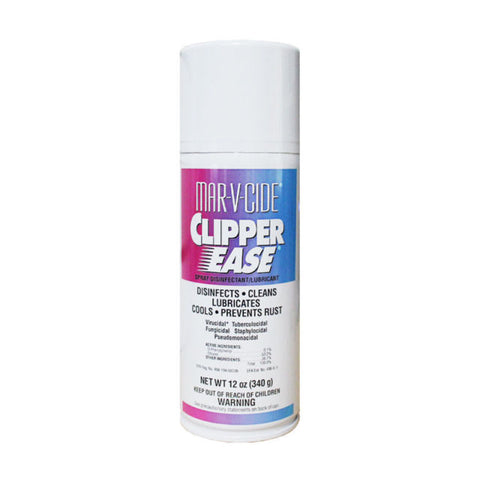 MarVcide Clipper Ease Hair Clipper Spray 12 oz Disinfectant Lubricant fungicidal