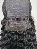 Frontal Lace Wig Brazilian Human Hair Deep Wave - Elise Beauty Supply