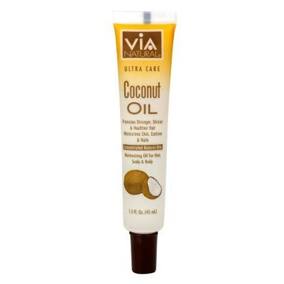 Via Natural Ultra Care Coconut Oil - Elise Beauty Supply