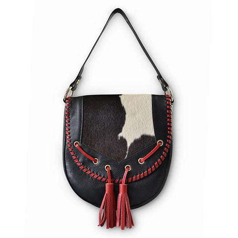 INDY PEBBLED LEATHER CROSS BODY BAG