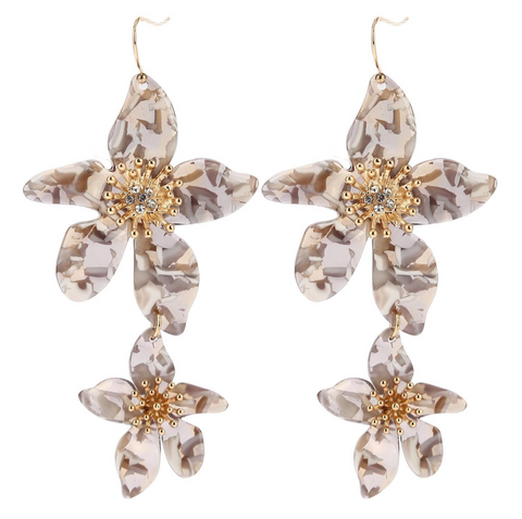 LILLIE EARRING TAUPE