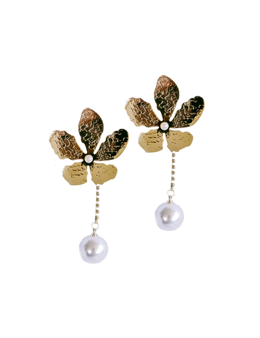 ABBEY EARRING GOLD