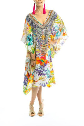 ELYSIAN COLLECTION SHORT KAFTAN
