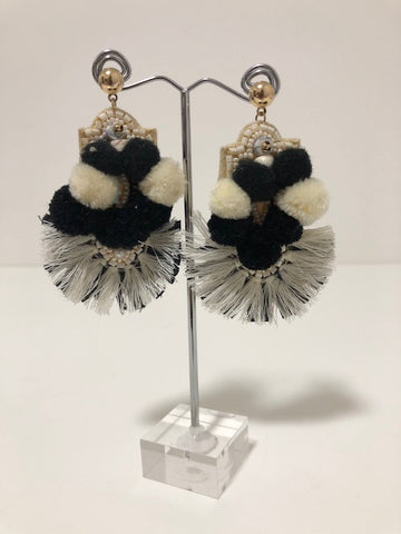 MONOCHROME CARNIVALE STATEMENT EARRING