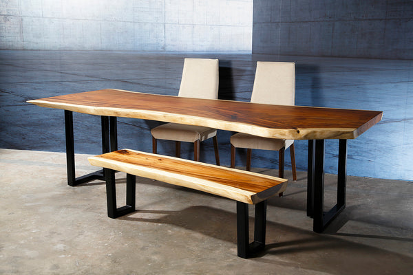 Live Edge Perfectly Polished Dinette