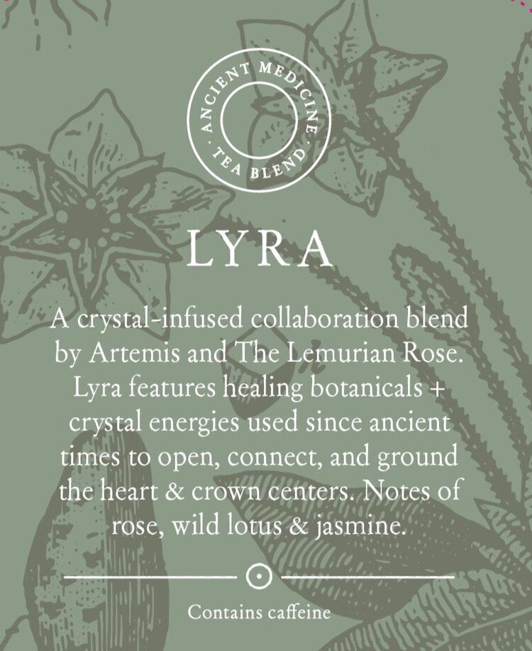 Lyra - Crystal Meditation Tonic