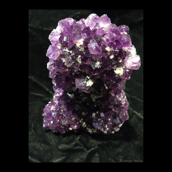 grape jelly amethyst mini cathedral from uruguay