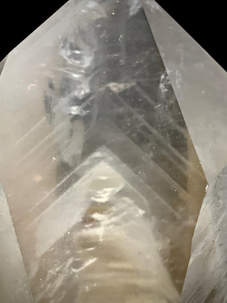 Pristine Natural Phantom Lemurian with Manifestations-Natural Lemurian Phantom Point-The Lemurian Rose