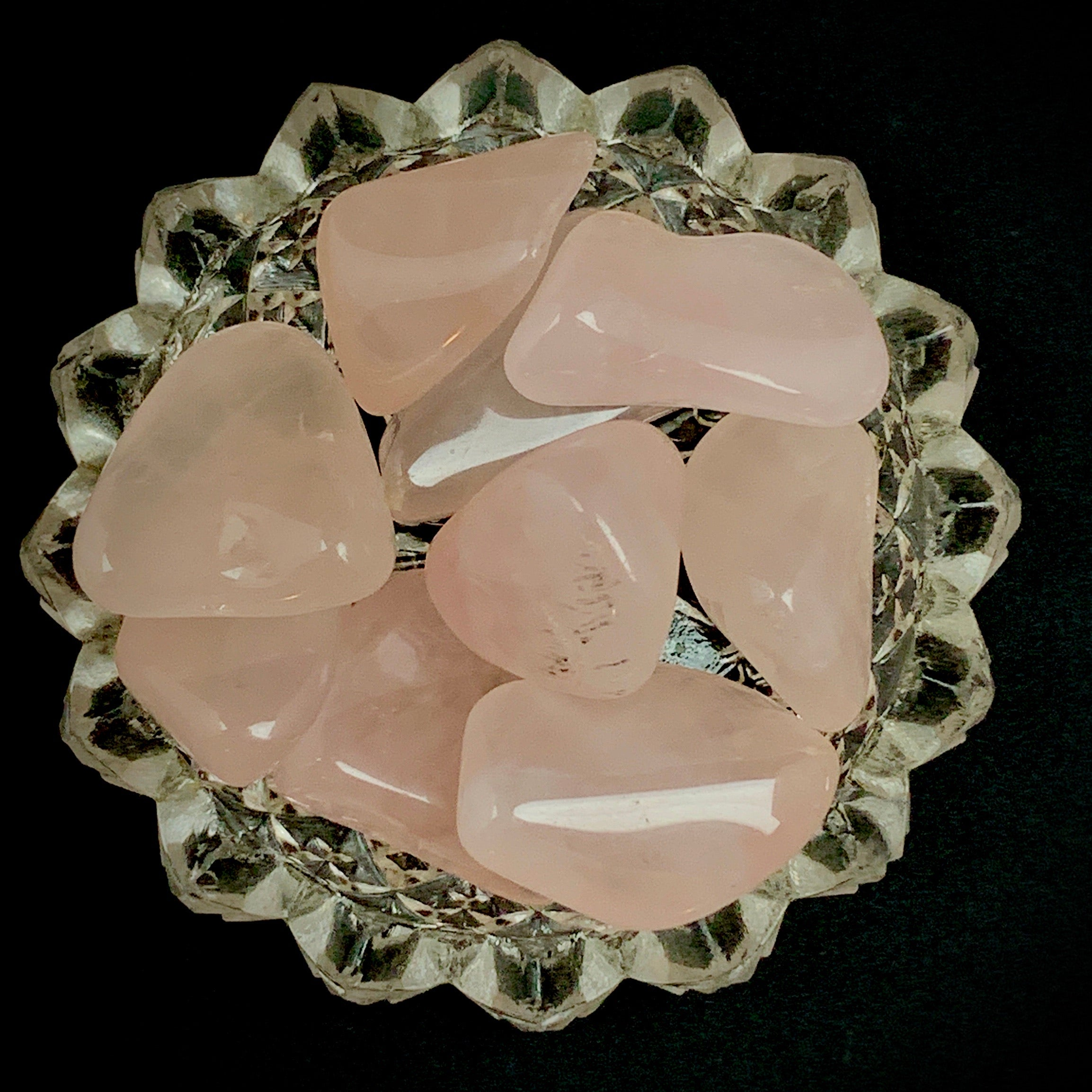 Gemmy Rose Quartz Tumbles