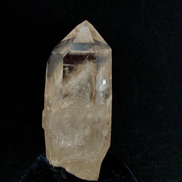 Pink Smoky Isis Lemurian-Double Terminated-polished lemurian-The Lemurian Rose