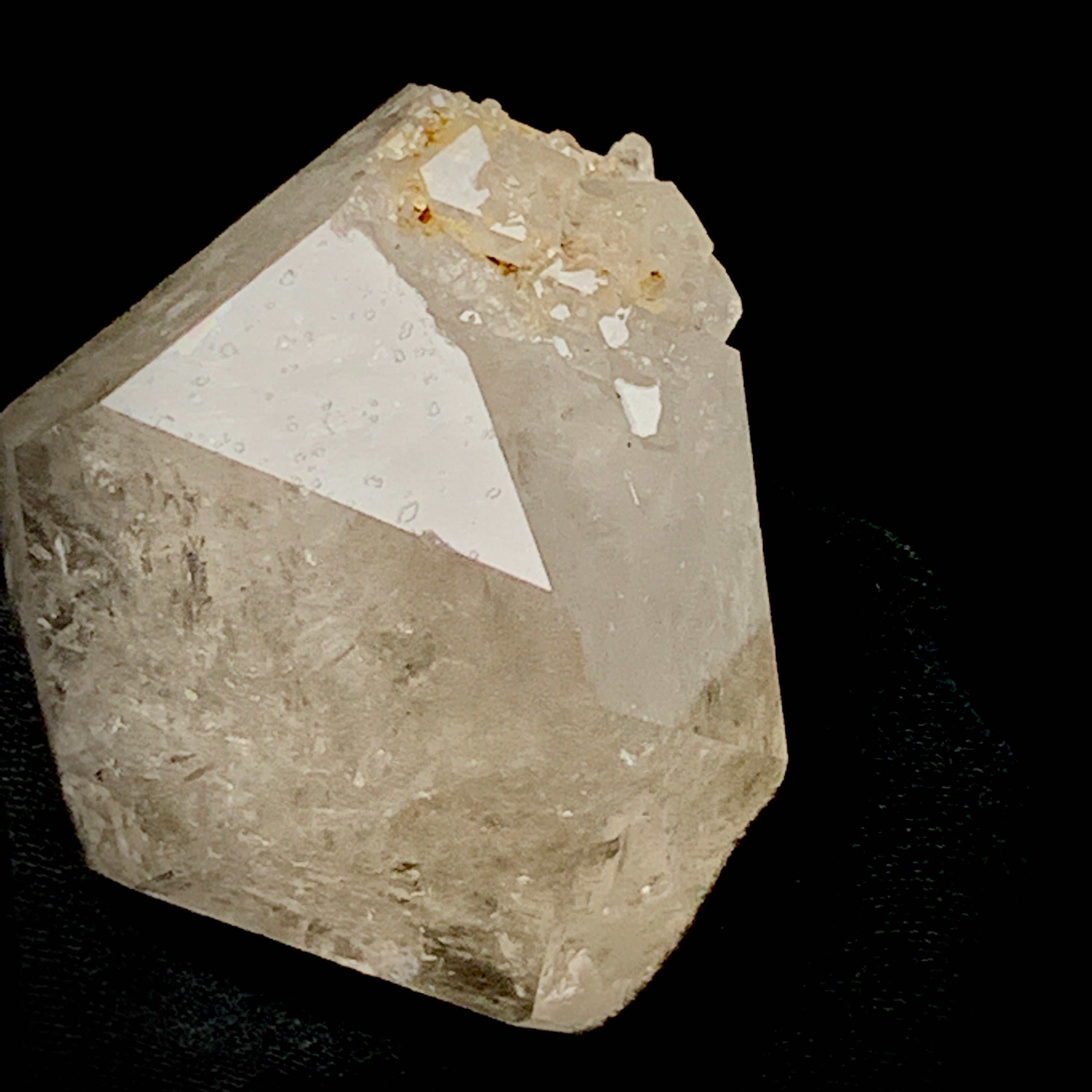 Double Terminated Isis With Moving Bubble-Fenster quartz with fluid inclusions-The Lemurian Rose