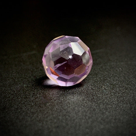 Amethyst Faceted Sphere