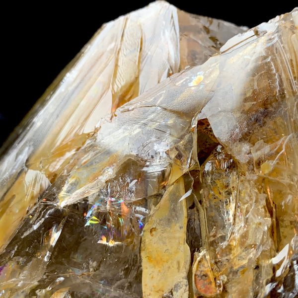 Huge Devic Temple Fenster Quartz With Moving Bubbles-fenster quartz with fluid inclusions-The Lemurian Rose