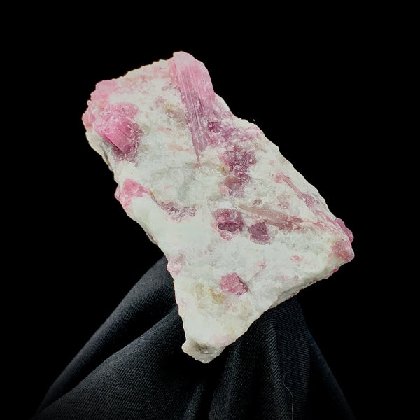 Rubellite in Cleavelandite-The Lemurian Rose-The Lemurian Rose