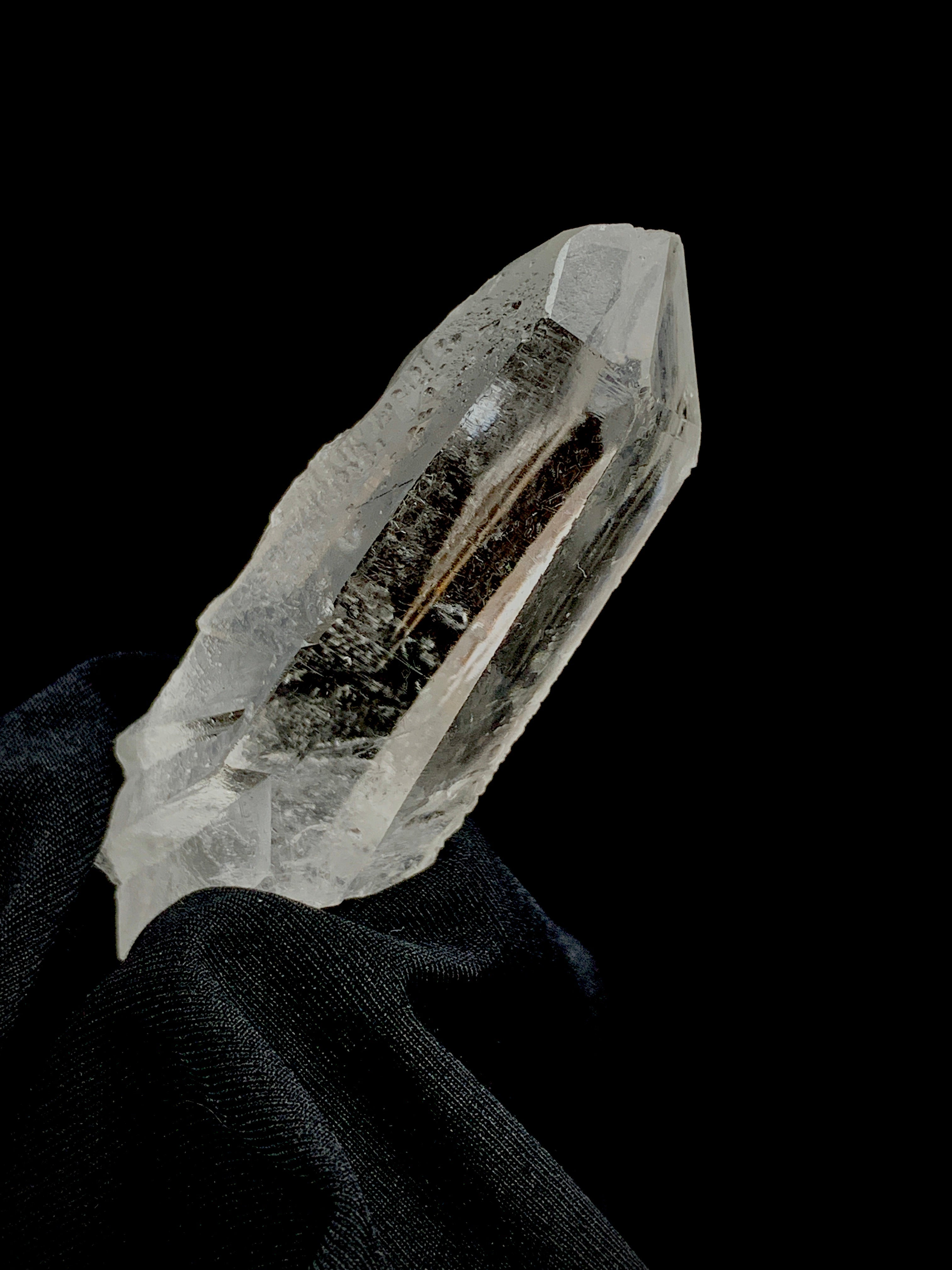 Diamantina Lemurian Starbrary— Isis and Double Terminated