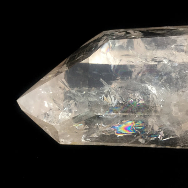 Standing Lemurian Point with Rainbows-Standing Lemurian Point-The Lemurian Rose