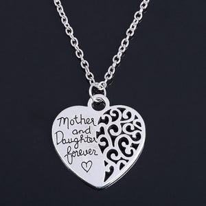 2017 Heart Love Mom Necklaces Pendants
